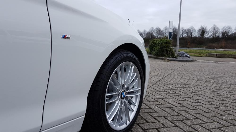 BMW 1-serie automaat wiel