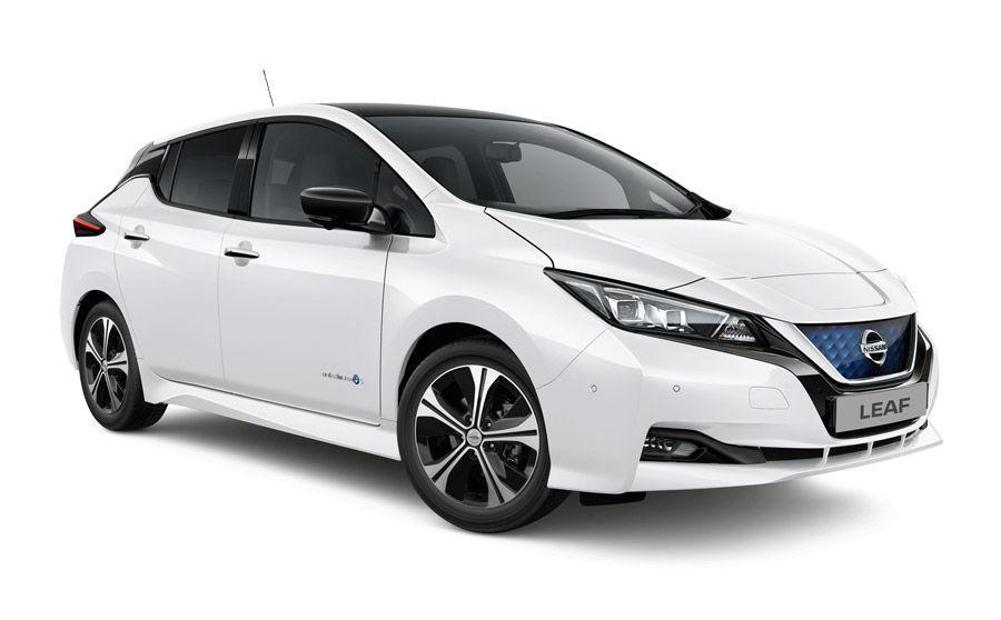 D elektrisch klasse Nissan leaf