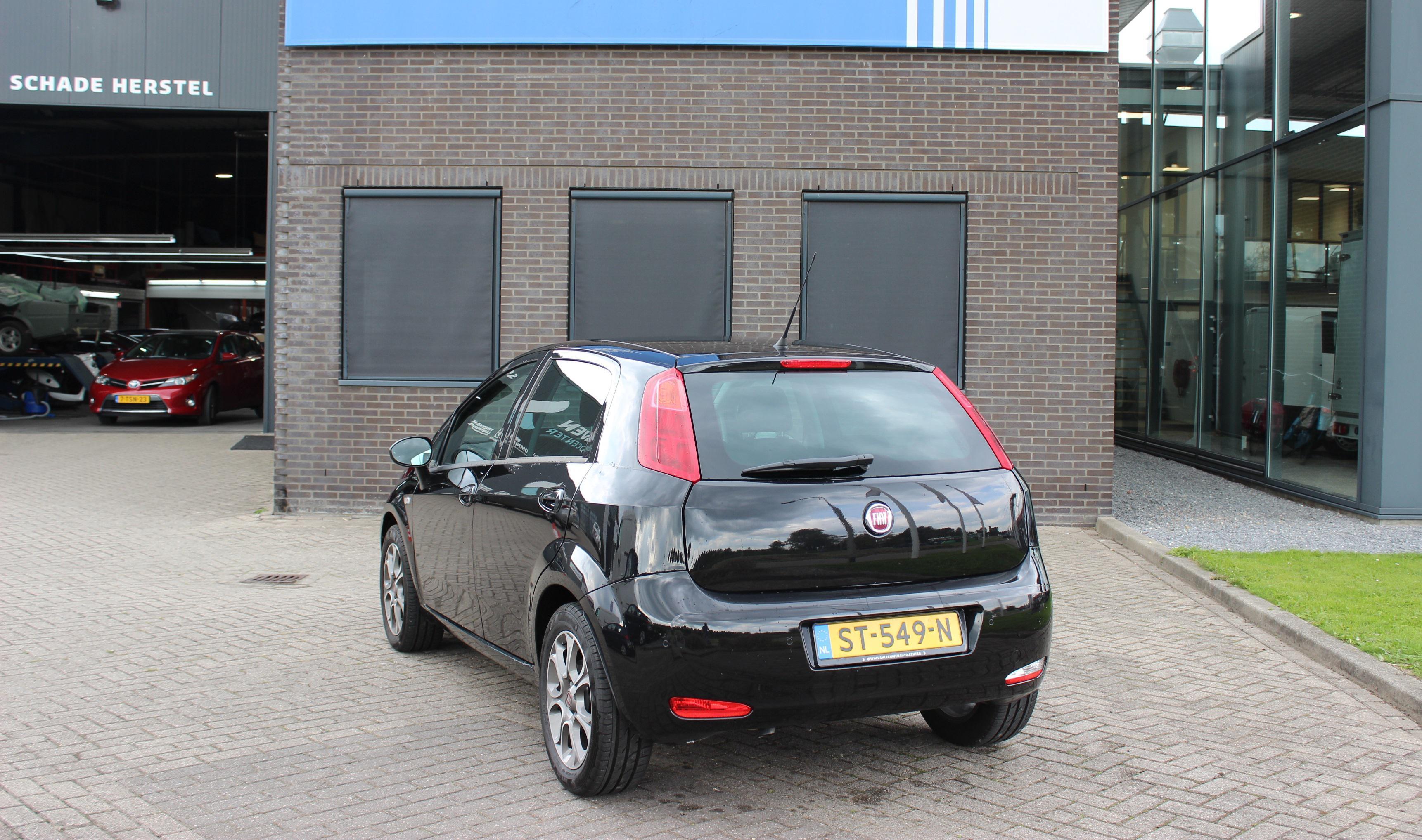 Fiat Punto Evo achterkant