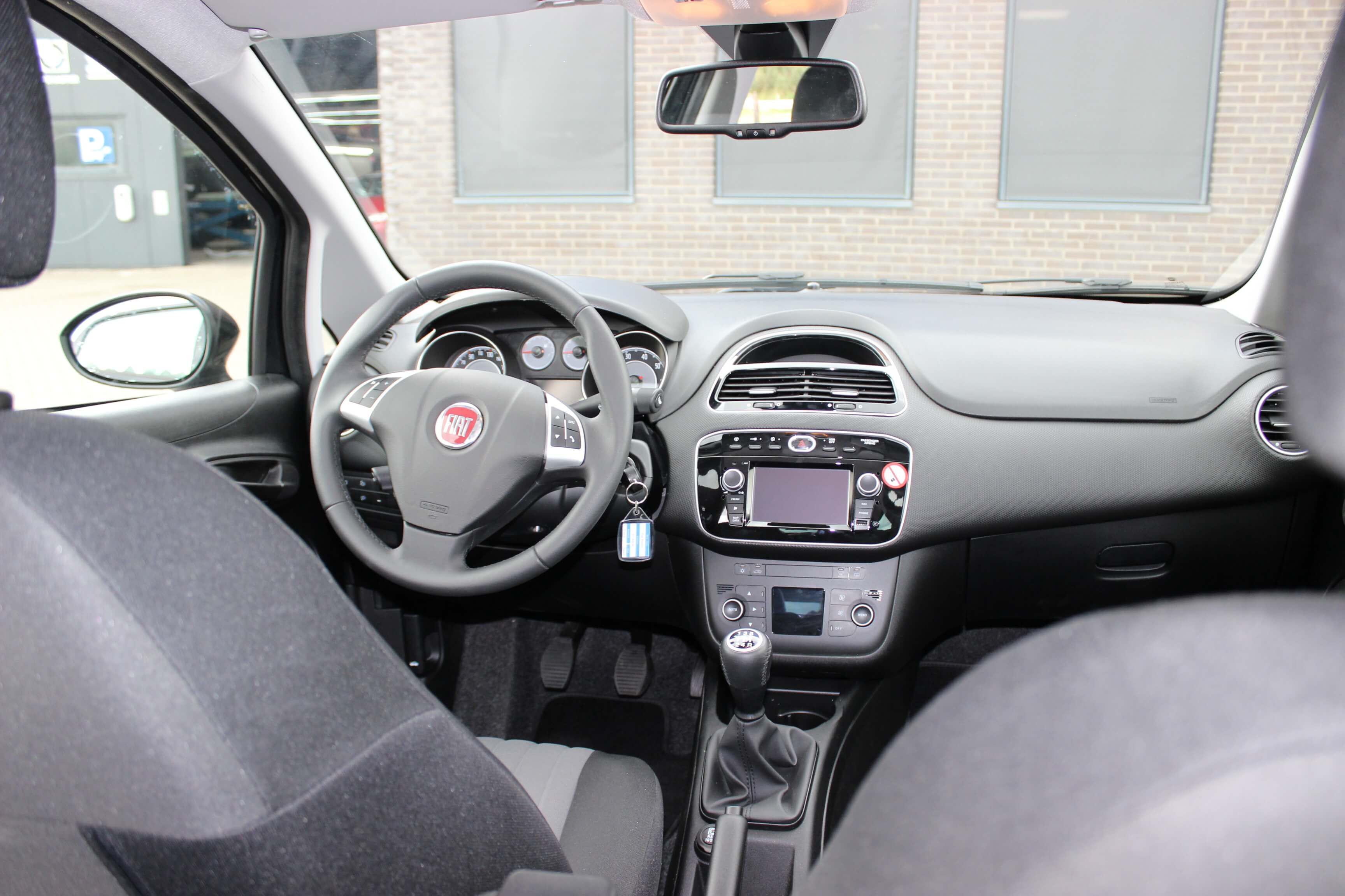 Fiat Punto Evo binnenkant
