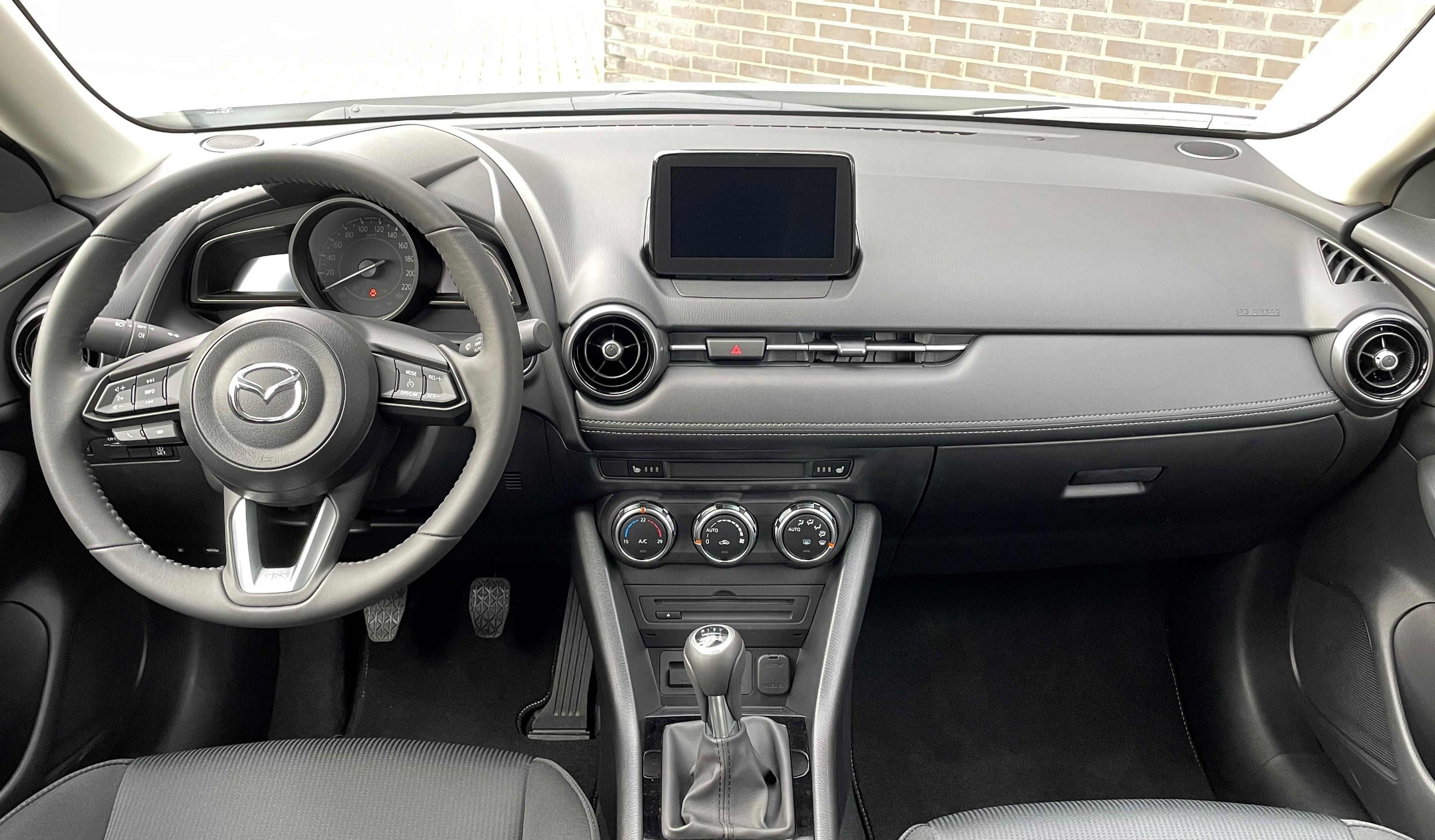 Mazda CX-3 binnenzijde