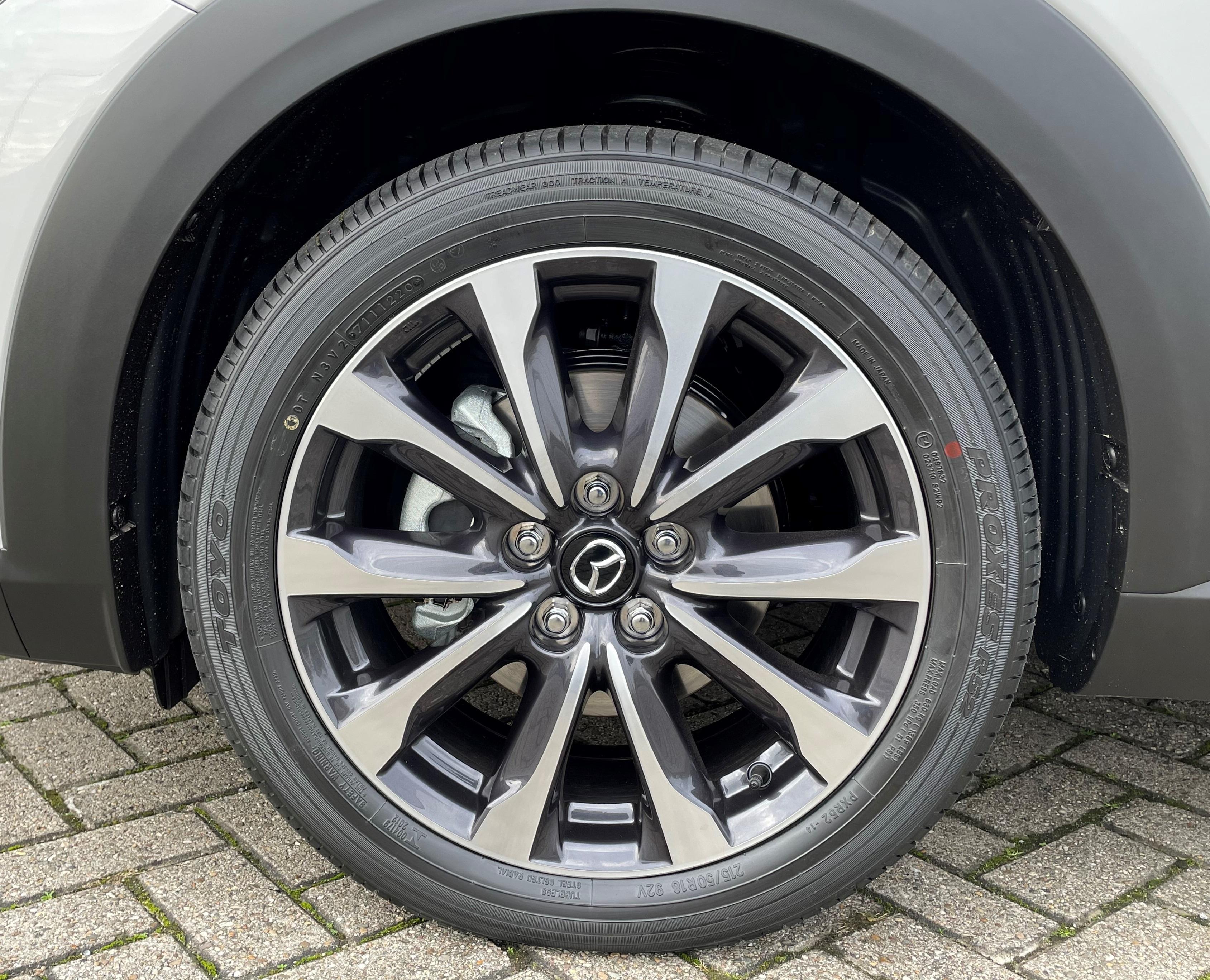 Mazda CX-3 velgen