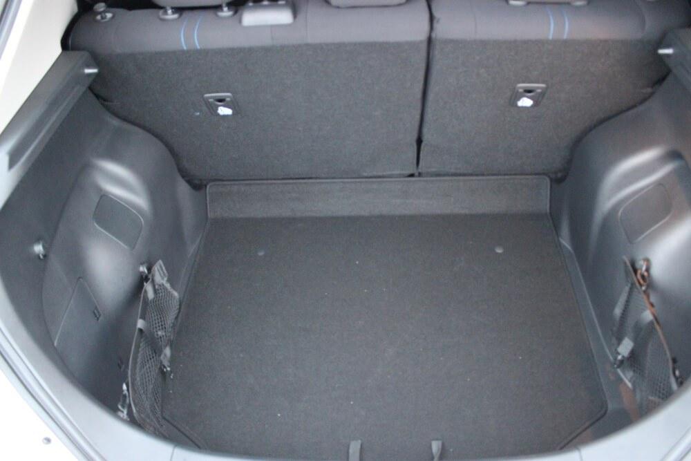 Nissan Leaf achterbak