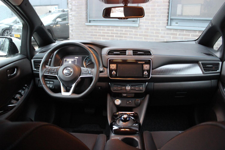 Nissan Leaf binnenkant
