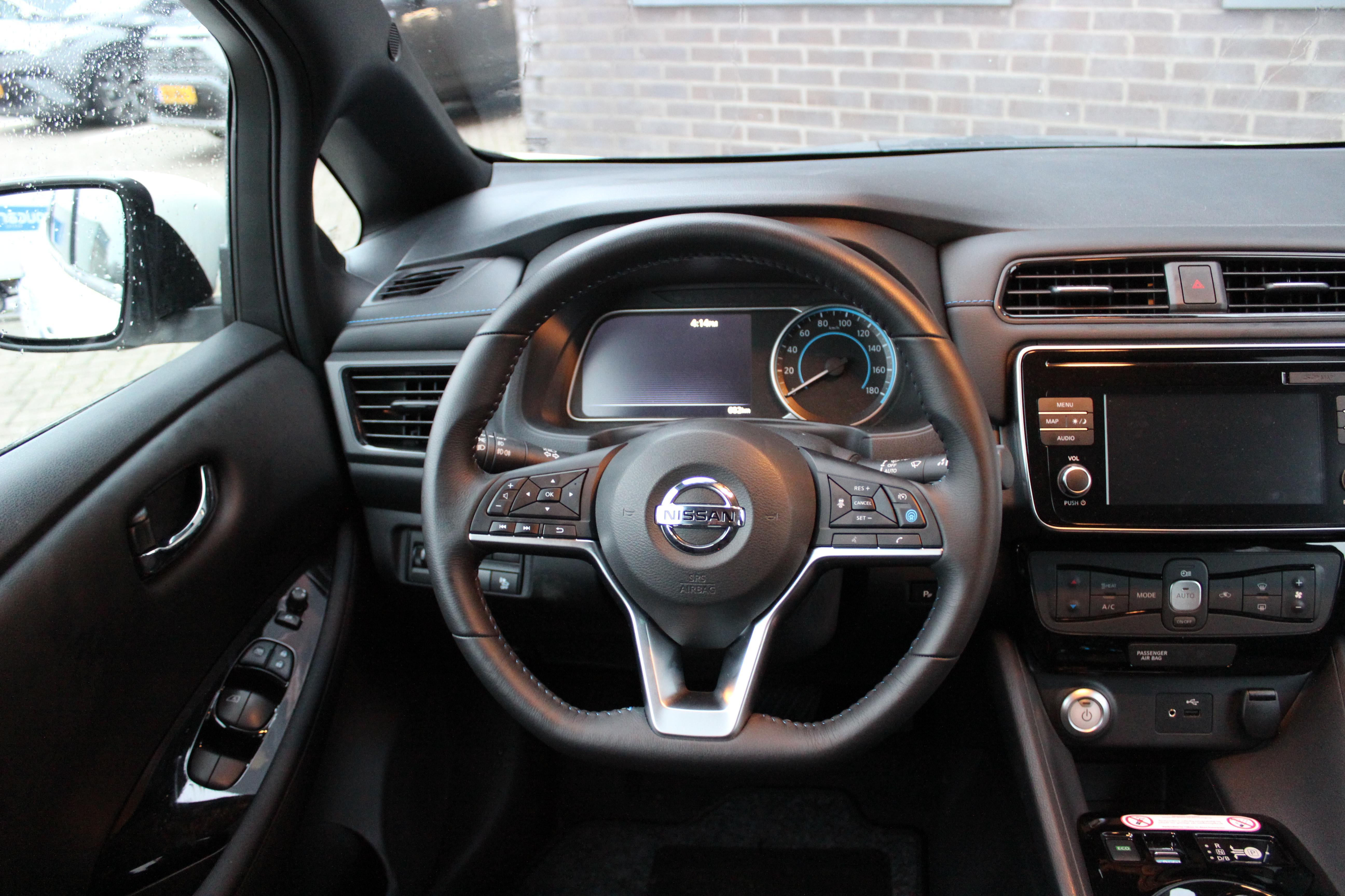 Nissan Leaf stuur