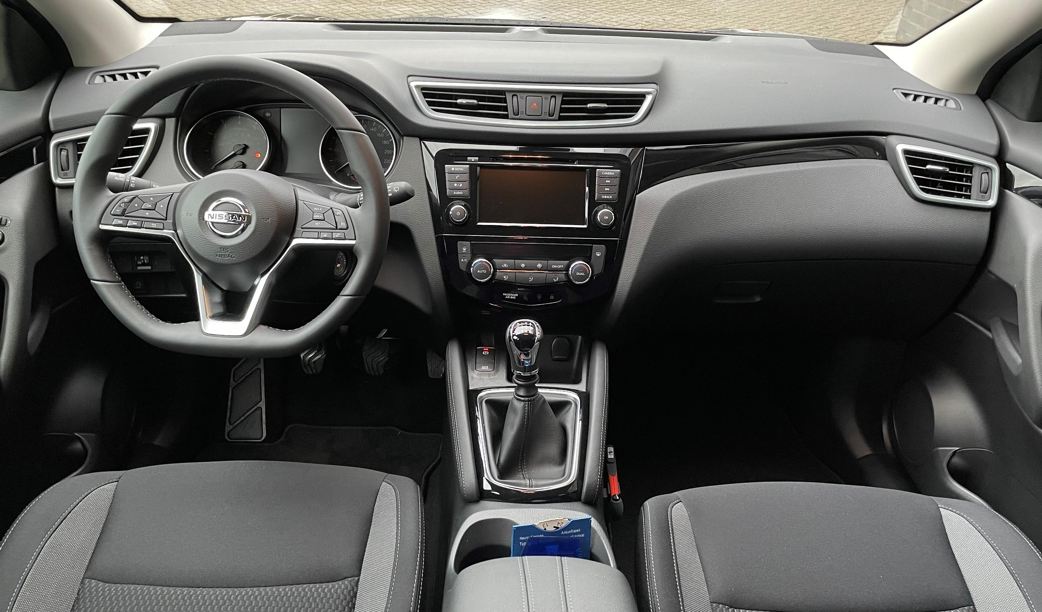 Nissan Qashqai binnenzijde
