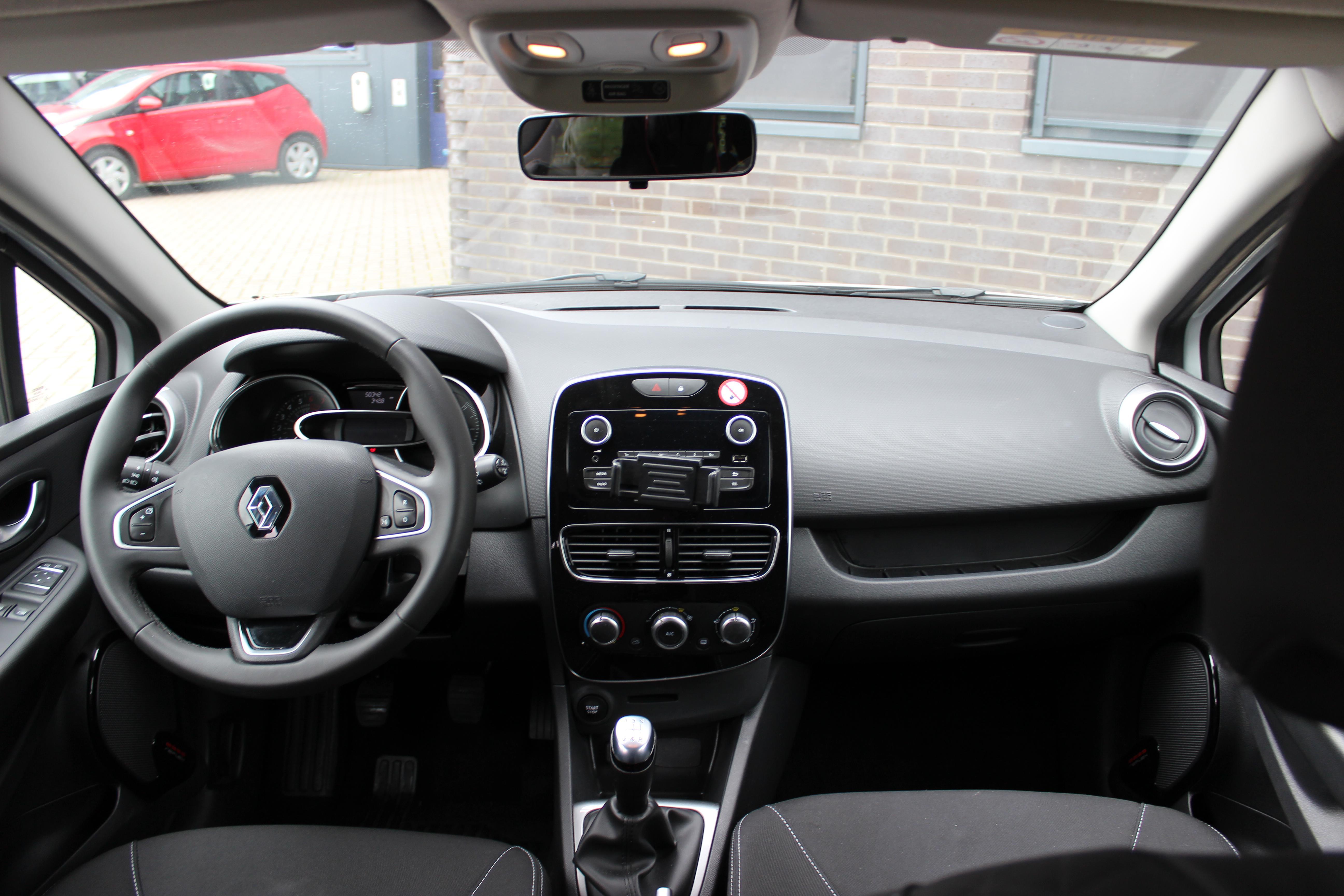 Renault Clio binnenkant