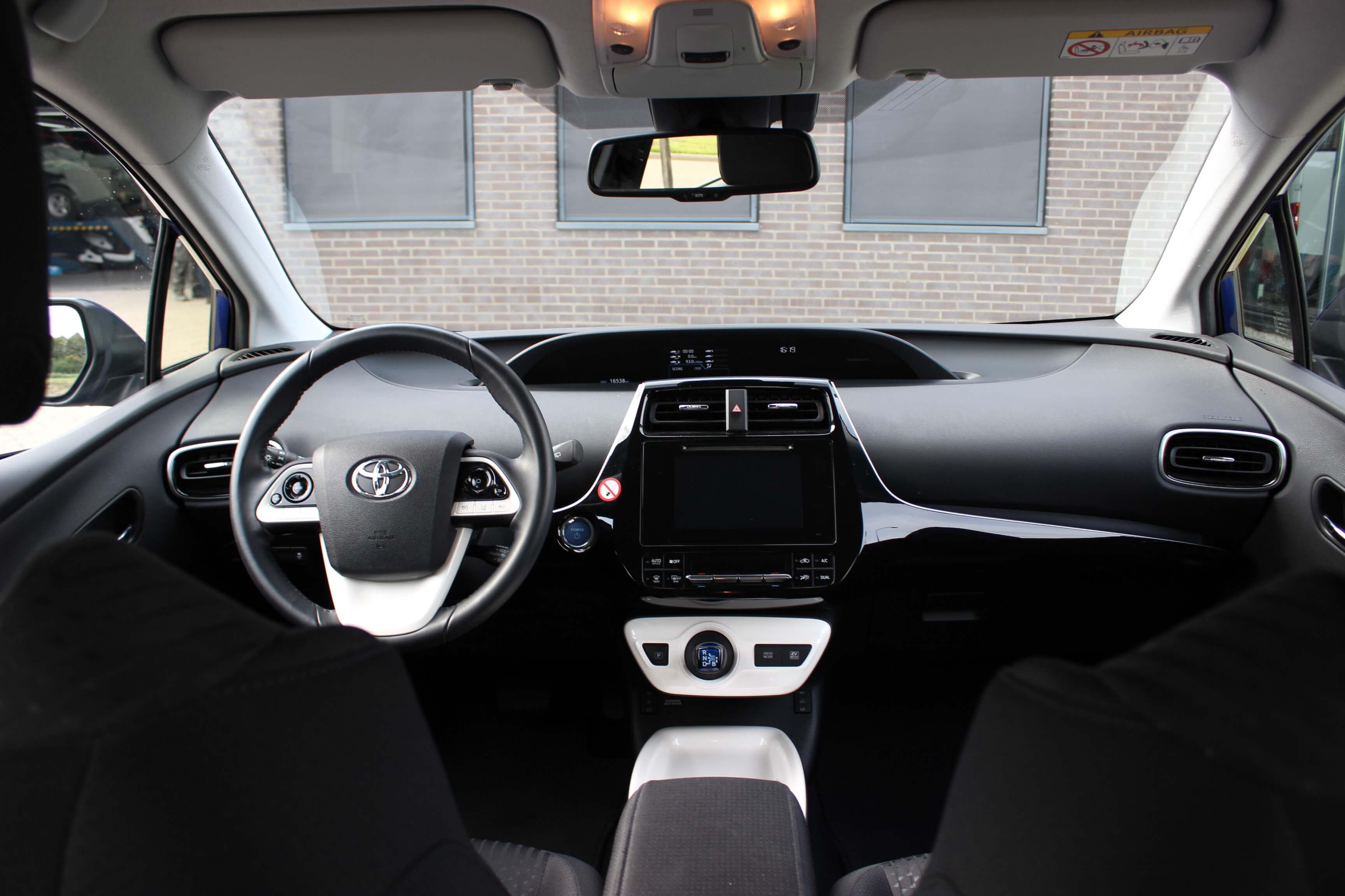 Toyota Prius binnenkant