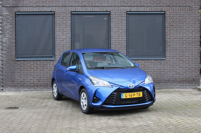 Toyota Yaris Hybrid blauw
