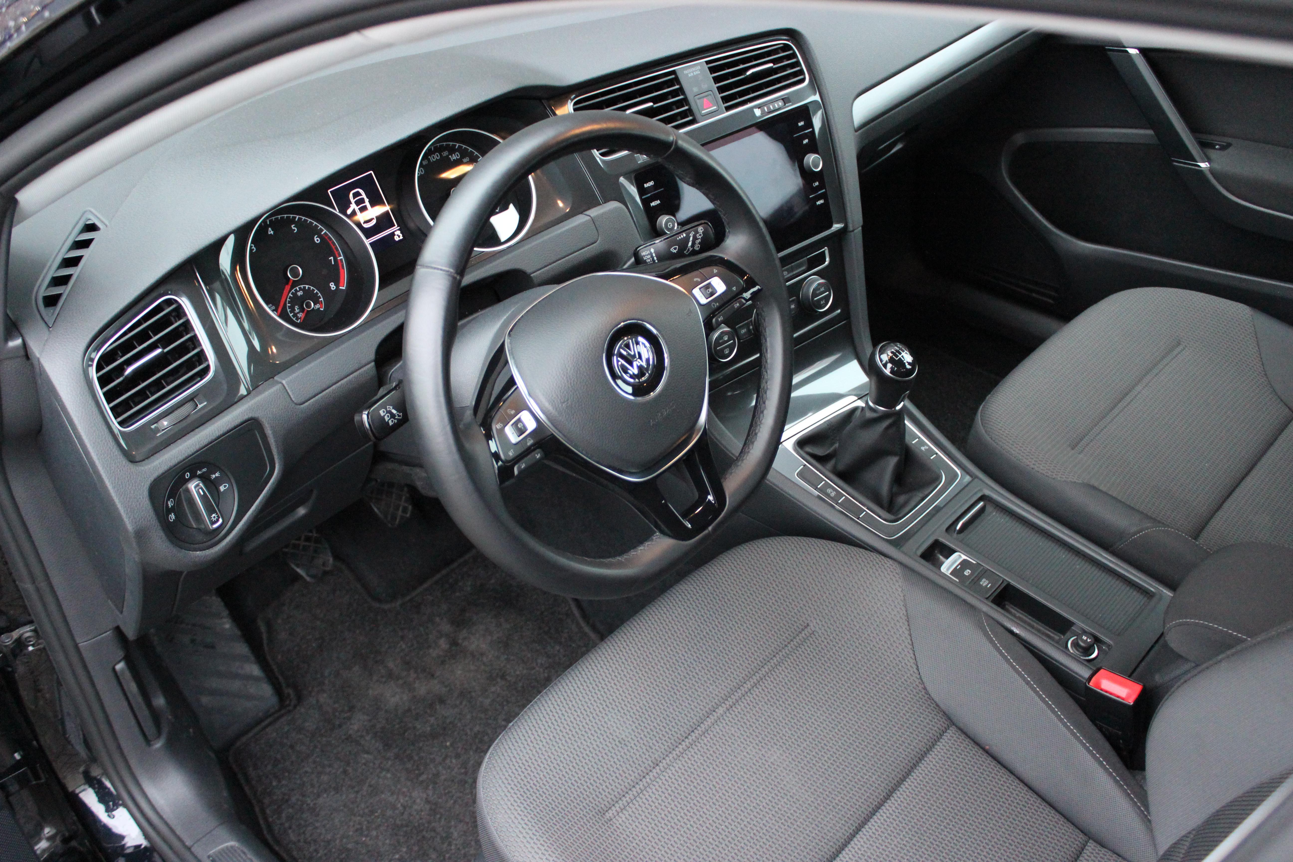 Volkswagen golf bestuurderskant