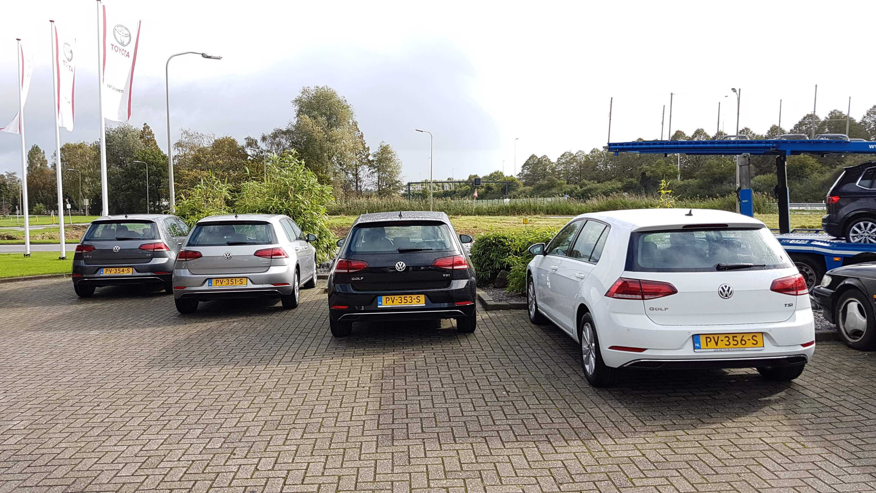 Volkswagen golf comfortline achterkant