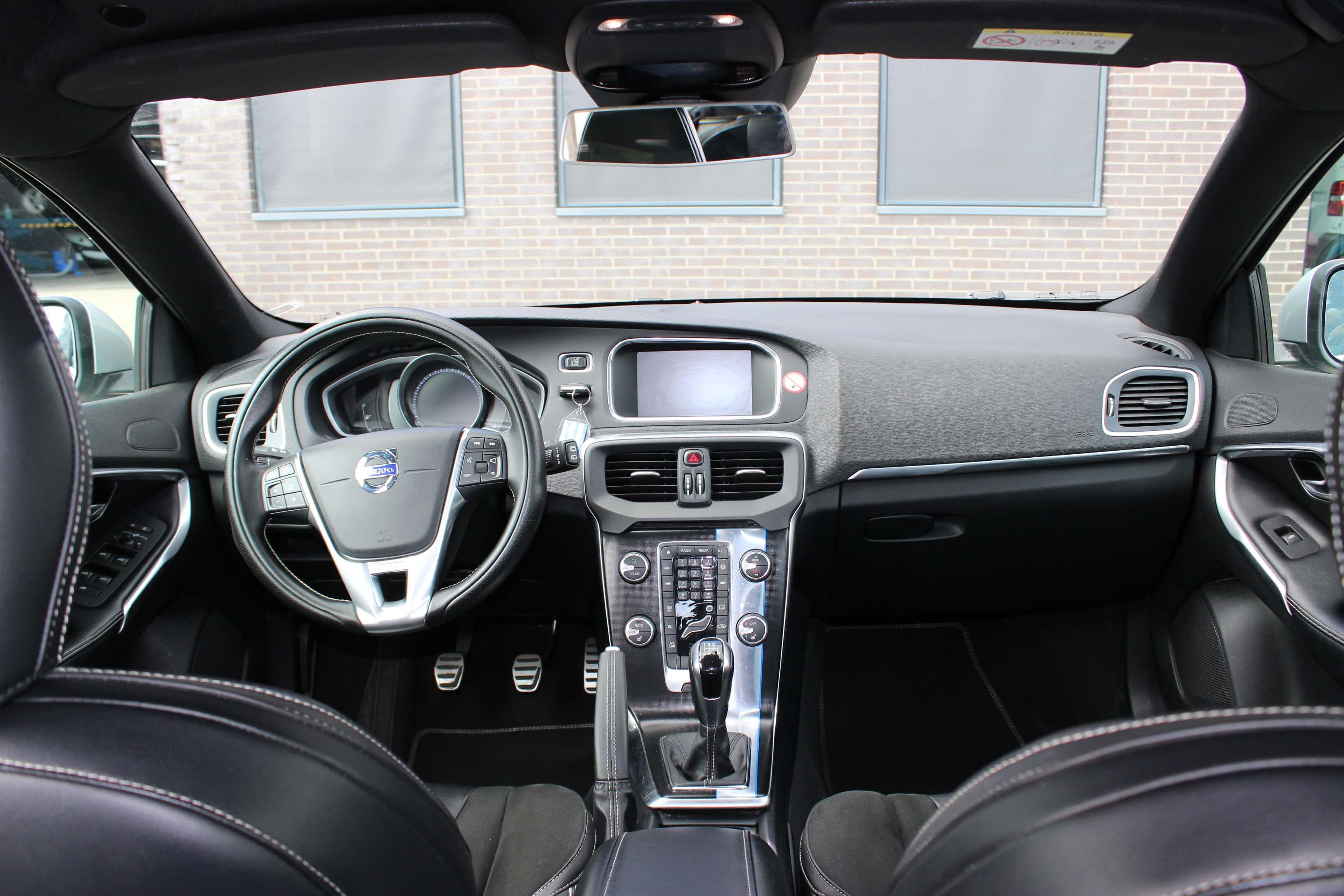Volvo V40 D2 binnenkant