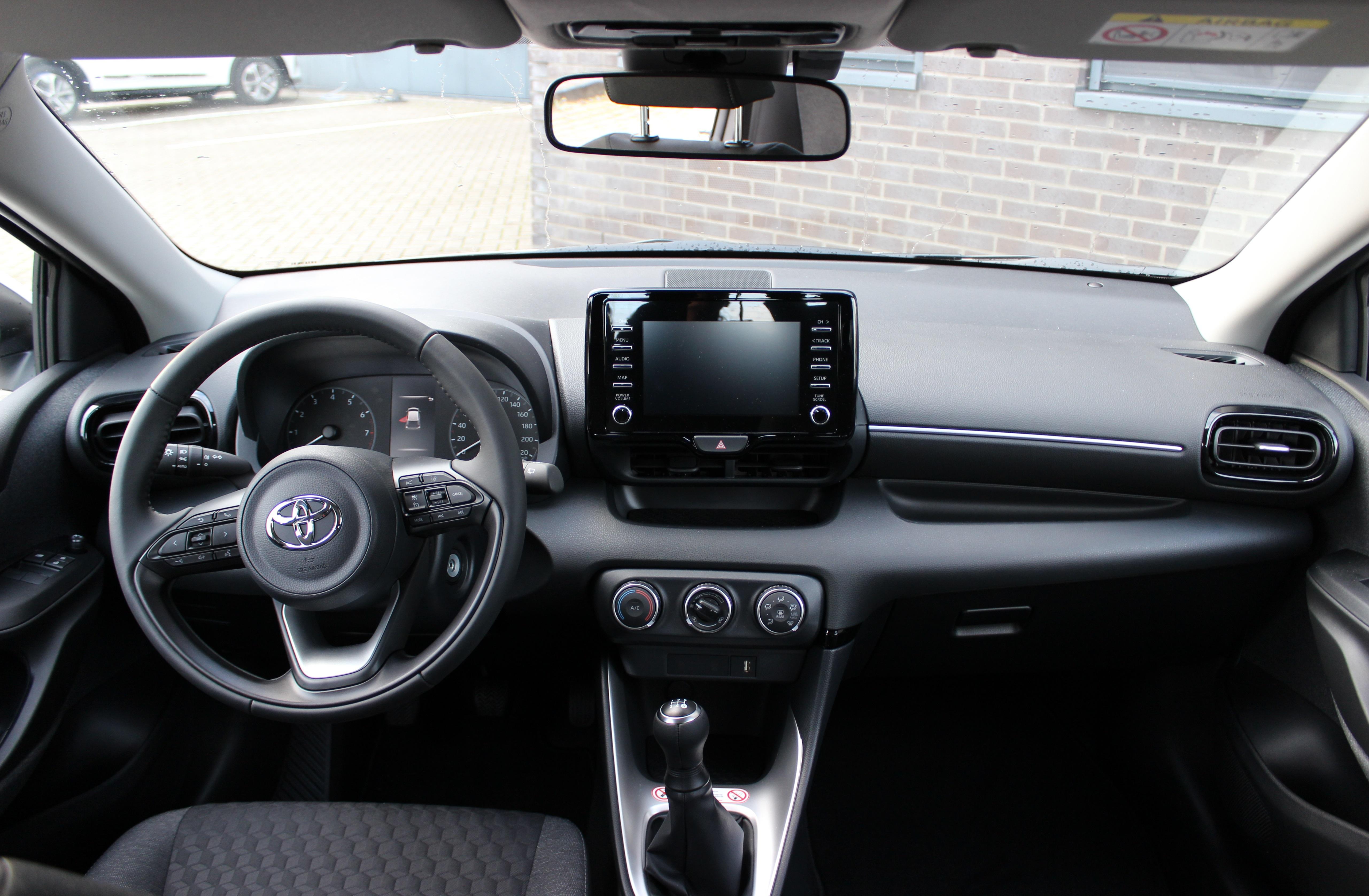 Toyota Yaris binnenkant