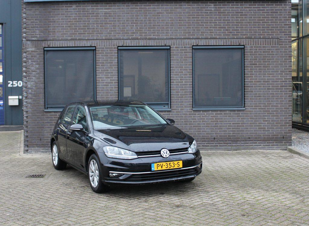 Volkswagen golf zwart