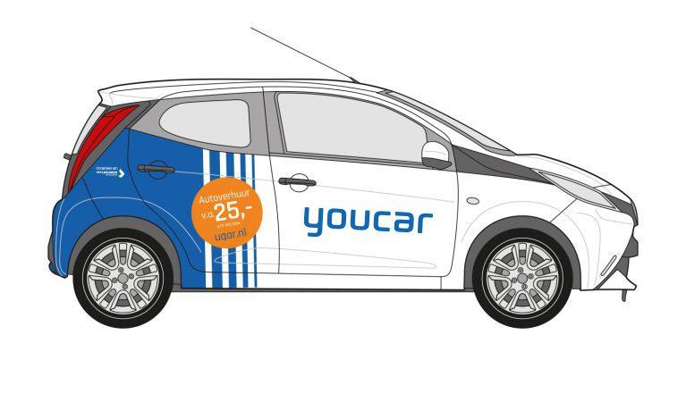 Toyota Aygo Bestickerd Youcar