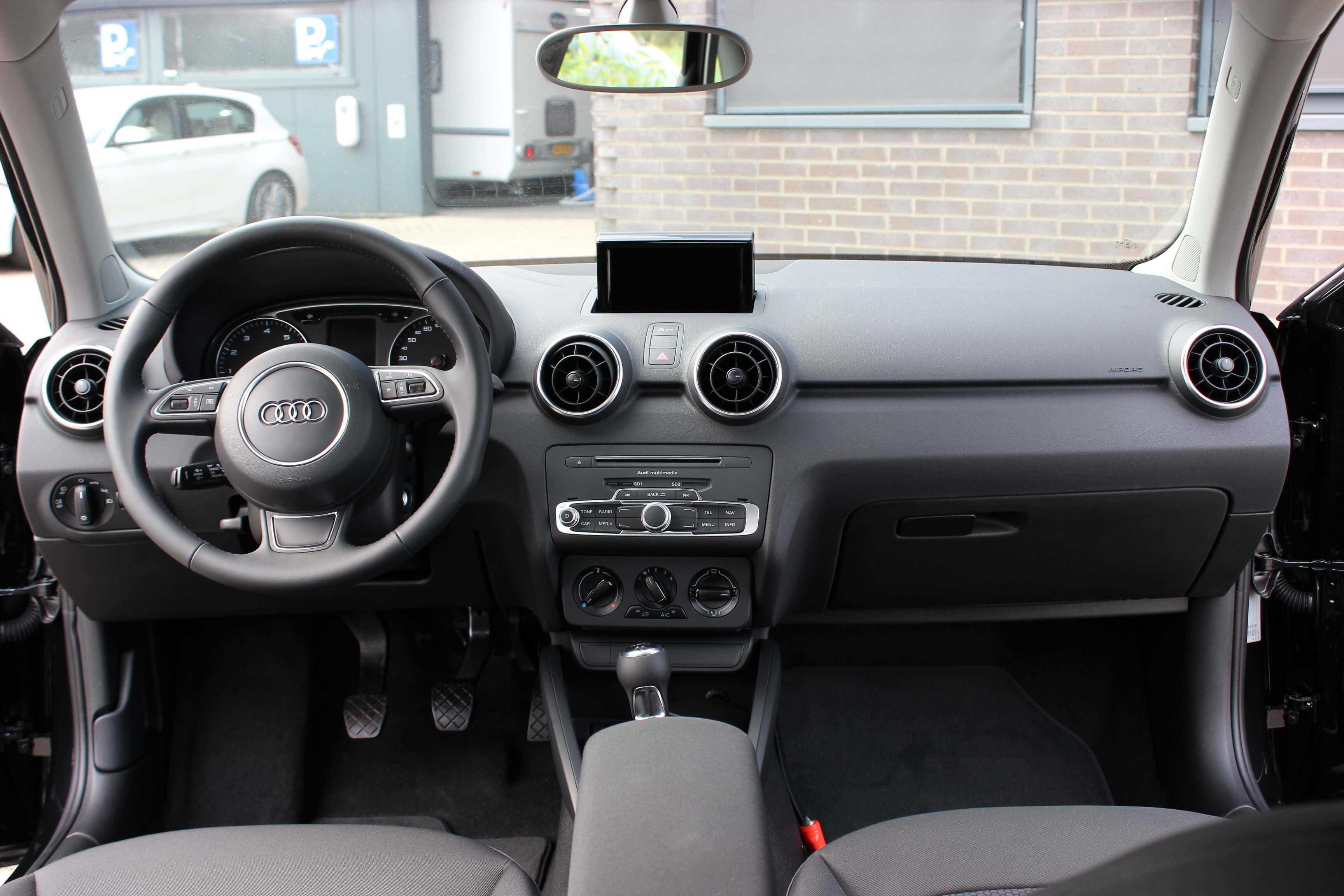 Audi A1 binnenkant