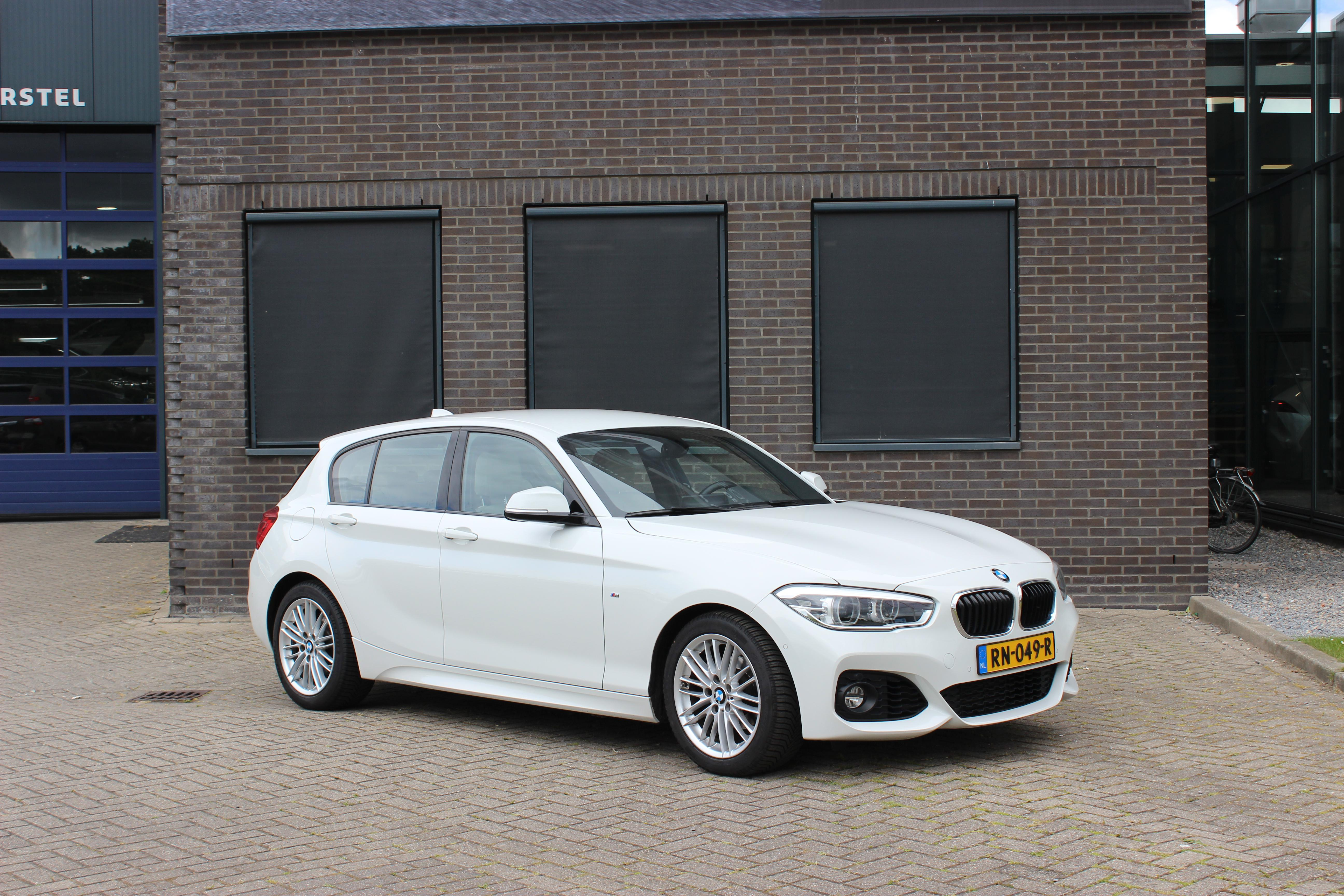 BMW 1 serie automaat wit